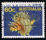 Sellos del Mundo : Oceania : Australia : Lionfish