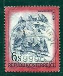 sellos de Europa - Austria -  paisage
