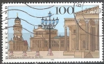 sellos de Europa - Alemania -  Gendarmenmarkt de Berlín.