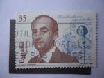 Sellos de Europa - España -  Ed:3550 - Grabadores Españoles-A.Manso fernández