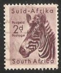 Sellos de Africa - Sudáfrica -  Mountain Zebra