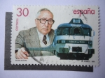 Stamps Spain -  Ed:3347 - Talgo Actual.