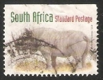 Stamps South Africa -  Black Rhinoceros