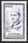Stamps : Africa : Morocco :  15 - Mohamed V