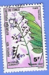 Stamps Republic of the Congo -  MILLETIA LAURENTI