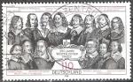 Sellos de Europa - Alemania -  350º Aniv de la Paz de Westfalia (asentamientos que terminan con la Guerra de los Treinta Años).