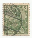 Stamps : Europe : Germany :  Reichspost