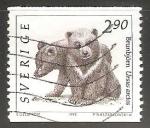 Sellos de Europa - Suecia -  Brunbjorn Ursus arctos