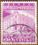 Stamps America - Venezuela -  Caracas oficina de correos