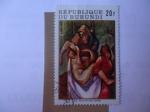 Sellos de Africa - Burundi -  XIII. Filius In Sinu Matris.