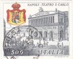 Sellos del Mundo : Europa : Italia : NAPOLES TEATRO S. CARLO