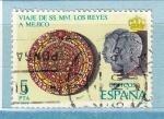 Sellos del Mundo : Europa : España : Viaje SS RR a Mejico (1055)