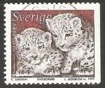 Stamps Sweden -  Snow Leopard (Panthera uncia)