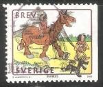 Sellos del Mundo : Europa : Suecia : Ýear of the Horse