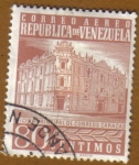 Sellos de America - Venezuela -  Caracas oficina de correos