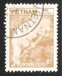 Sellos de Asia - Vietnam -  Sunda Slow Loris (Nycticebus coucang)