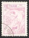 Sellos de Asia - Vietnam -  Tokay Gecko (Gekko gecko)