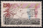 sellos de Europa - Francia -  Primer Centenario de la República Francesa.