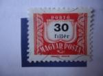Stamps Hungary -  S/Hungría:255 - 30 fillér.