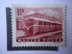 Sellos de Europa - Hungría -  Keszthely - Tren