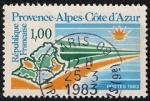 Stamps France -  Provenza-Alpes-Côte d'Azur.
