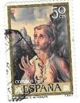 "Stamps : Europe : Spain :  Luis de Morales ""El Divino"" Edefil 1963"