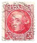 Stamps : Europe : Spain :  Gaspar Melchor de Jovellanos  Edefil 0687