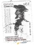 Stamps : Europe : Spain :  IV Centenario del Fallecimeinto de Miguel de Cervantes Edifil 5025