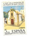 Stamps : Europe : Spain :  V centenario de la Fundacion de las palmas de gran canaria