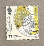 Stamps United Kingdom -  300 Aniv John Harrison, inventor cronómetro