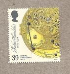 Sellos de Europa - Reino Unido -  300 Aniv John Harrison, inventor cronómetro