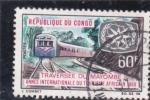 Sellos de Africa - República del Congo -  TRAVESIA DE MAYOMBE