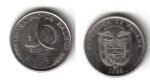 monedas de America - Panamá -  un Decimo