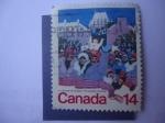 Stamps Canada -  S/Canadá:780 - El Carnaval de Québec.