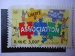 Stamps France -  Association