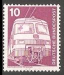 Sellos de Europa - Alemania -  Nahverkehrs triebzug - Tren Alemán