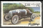 Stamps : Asia : Afghanistan :  Race Car In 1920