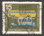 Stamps Germany -  Autobus