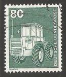 Sellos de Europa - Alemania -  Traktor