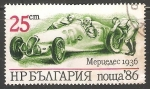 Sellos de Europa - Bulgaria -  Mercedes (1936)