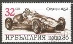 Sellos del Mundo : Europa : Bulgaria : Ferrari(1952)