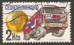 Stamps Czechoslovakia -  Paris-Dakar Rallye