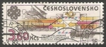 Sellos del Mundo : Europa : Checoslovaquia : medios de transporte