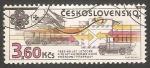 Stamps Czechoslovakia -  medios de transporte