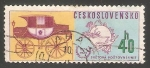 Sellos de Europa - Checoslovaquia -  UPU Emblem and Mail coach