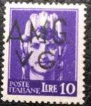 Sellos de Europa - Italia -  AMG VG 1945