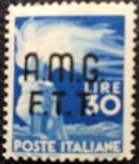 Sellos de Europa - Italia -  AMG FTT 1947