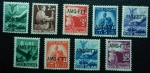 Sellos de Europa - Italia -   1949 Democracy - Italy Postage Stamps of 1945 Overprinted