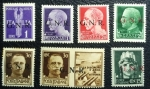 Stamps Italy -  GNR 1943-44