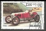 Sellos del Mundo : Asia : Afganistán : Race car in 1930